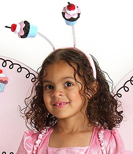 Princess Paradise Girls Cupcake Fairy Child Headband Pink One Size