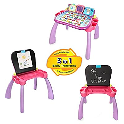 VTech Touch and Learn Activity Desk - Purple - Online Exclusive from VTech
