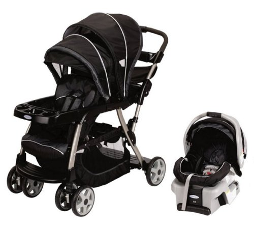 Graco Ready2Grow Lx Baby Stoller & Snugride Car Seat Travel System - Metropolis