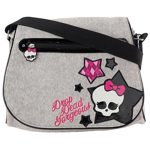 Imagen de Monster Drop Dead alta Bolsa de Gorgeous - Gris