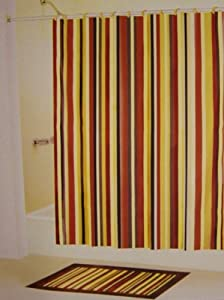 Burgundy And Brown Shower Curtain Pictures To Pin On