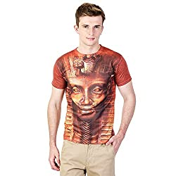 MEN 3D EFFECT PRINTED TSHIRTS(US-EGYPTIAN-ORN-L)