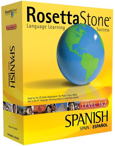 Rosetta Stone V2: Spanish (Spain) Level 1-2 [OLD VERSION]