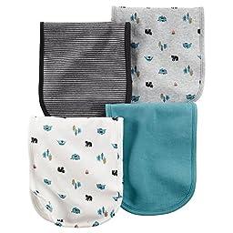 Carter\'s Baby Boys Burp Cloths 126g294, Assorted, One Size