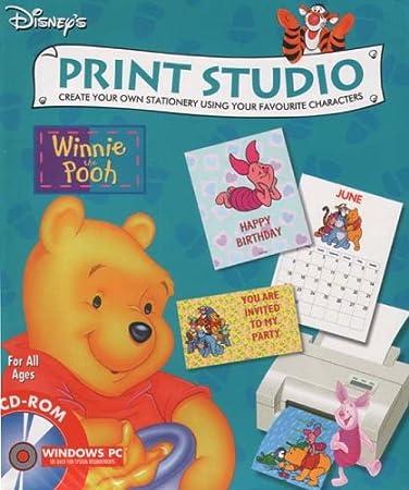 Winnie The Pooh Print Studio (PC CD)