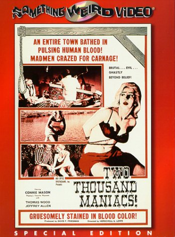 Two Thousand Maniacs [DVD] [1964] [US Import] [NTSC]