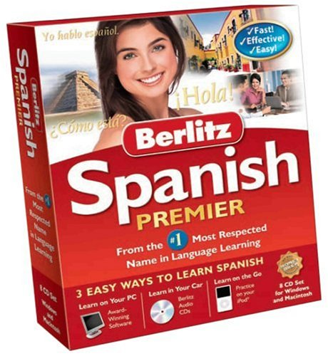 Nova Berlitz Spanish Premier (PC/Mac)