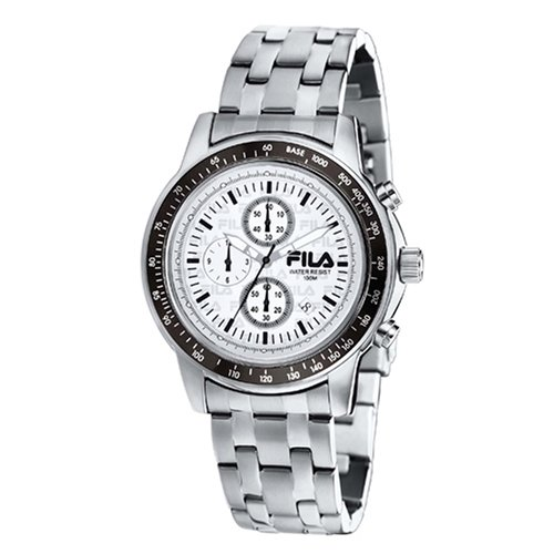 Fila FA0603-35 - Reloj analógico de cuarzo para mujer, correa de caucho color negro
