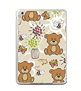Cute Bear Wallpaper 2D Hard Polycarbonate Designer Back Case Cover for Apple iPad Mini 4 :: Apple iPad Mini 2 :: Apple iPad Mini 2 Wi-Fi + Cellular :: Apple iPad Mini 3 :: Apple iPad Mini 3 Wi-Fi + Cellular