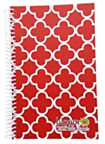 2013-2014 bloom Academic Year Daily Day Planner Fashion Organizer Agenda August 2013 Through July 2014 Quatrefoil