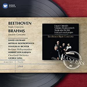 Beethoven : Triple Concerto - Brahms : Double concerto