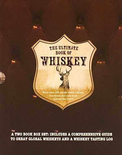 The Ultimate Book of Whiskey Set W/ Tasting Journal (Whisky Slipcase)