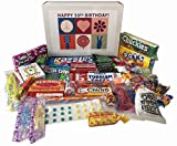 50th Birthday Gift Box Peace & Love Retro Candy- Jr.