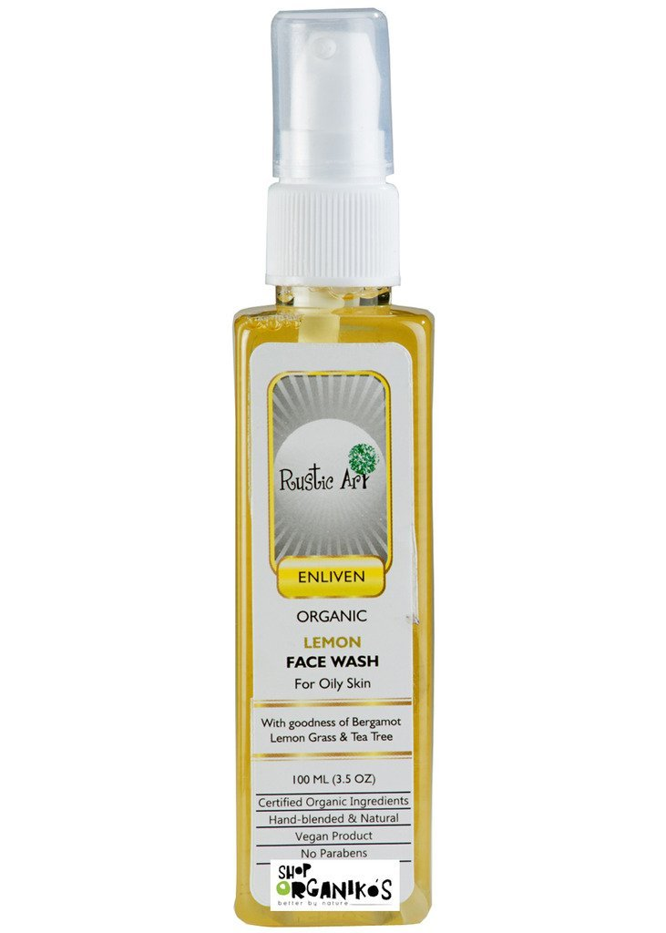 Rustic Art Organic Lemon Face Wash