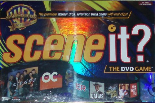 SCENE IT - WB Warner Bros 50th Anniversary DVD Game with Real Clips on the Trivia - 1