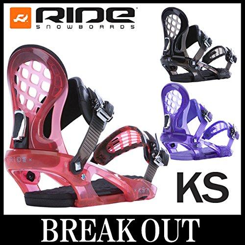 14-15 RIDE / ライド KS KS-LTD レディース ビンディング バインディング スノーボード M(24.0~28.0cm) PURPLE