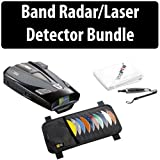 Cobra XRS 9950 12 Band Radar/Laser Detector Car Bundle