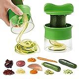 Zetong Hand Spiralschneider Gemüseschäler Spirale Küchen...