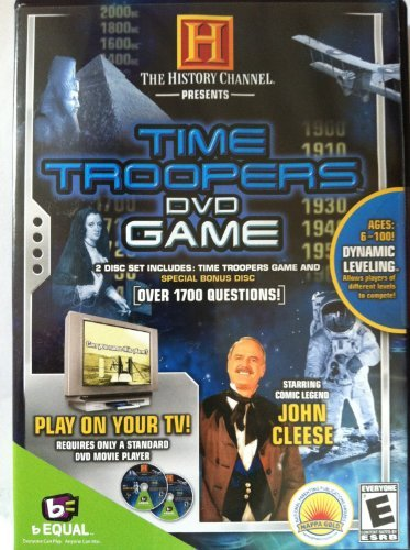 The History Channel Presents Time Troopers DVD Game - 1