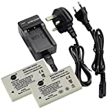 DSTE® 2pcs NP-200 Rechargeable Li-ion Battery + Charger DC56U for Konica Minolta DiMAGE X, DiMAGE Xg, DiMAGE Xi, DiMAGE Xt, DiMAGE Xt Biz