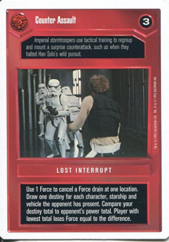 Star Wars CCG Premiere weiß Border, Classic Counter Assault