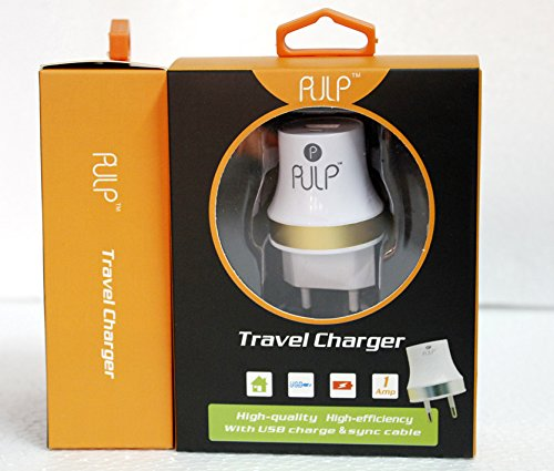 Pulp Mobile USB Wall Charger for Apple iphone4 4s 5 5S 5C, Samsung, Nokia, HTC, Moto Mobile Phones Tablets