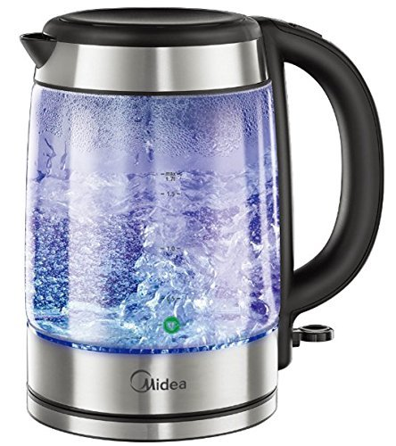 1.7 Liter Automatic Cordless Water Kettle, Auto Shut OFF Feature, LED Indicator for Heating with Boil Dry Protection Boils Water Fast & Safe (Kettle Auto compare prices)