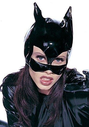 Costume di Halloween Festa di Carnevale signore vinile Cat Mask Catwoman