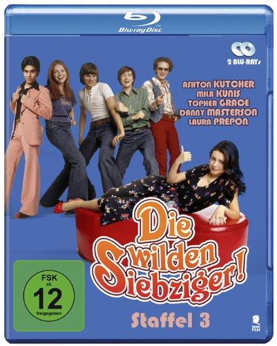 Die wilden Siebziger! - Die komplette 3. Staffel (2 Blu-rays)