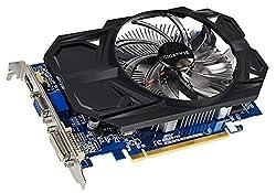 Gigabyte AMD Radeon R7 240 2GB DDR3 ( GV-R724OC-2GI ) Graphics Card OC Version / PCI-E 3.0 / 2GB / DDR3 / 128 bit / Single Link DVI-D/D-Sub/HDMI / 100mm Large Fan