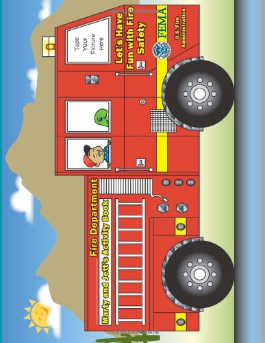Fire Department: Marty And Jetts' Activity Book: Let'S Have Fun With Fire Safety front-180827