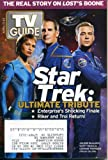TV Guide April 17, 2005 Jolene Blalock & Scott Bakula & Connor Trinneer, Star Trek: Ultimate Tribute, Enterprise, Survivor, American Idol, Numbers
