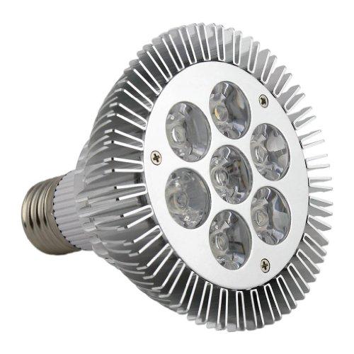 E821 Par Lamp Led Light Bulb With E27 Electric Light Socket,Two Color For You Choose (Warm Light, 7W)