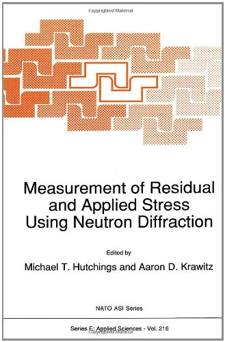 Measurement of Residual and Applied Stress Using Neutron Diffraction: Proceedings of the NATO Advanced Research Workshop, Oxford, U.K., March 18-22, 1991 (NATO Science Series E: (closed))
