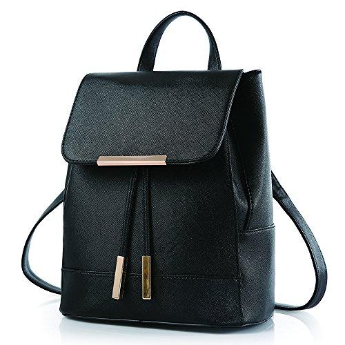 BYD - PU pelle Donna Female Borse a tracolla Backpack Borsa a Spalla Fashion Travel Bag Office Bag Shoulder Bag Designer Borse