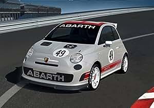 Amazon.com: Fiat 500 Abarth Assetto Corse (2008) Car Art Poster Print