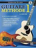 echange, troc Aaron Stang - 21st Century Guitar Method 1: French Language Edition
