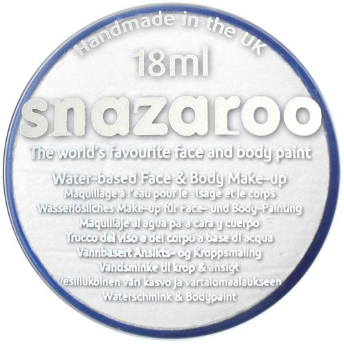 Snazaroo - 18 ml White Face Paint