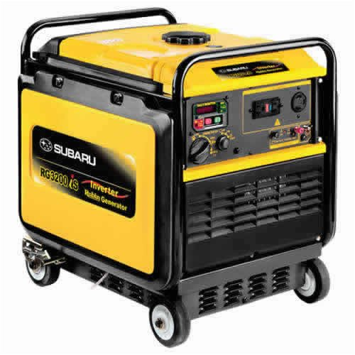 Subaru Rg3200Ise - 2800 Watt Electric Start Inverter Generator - Rg3200Ise