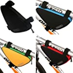 Bike Bicycle Triangle Nylon Saddle Fr...