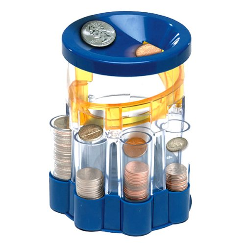Coin sorter book covers Coin sorting bank for kids