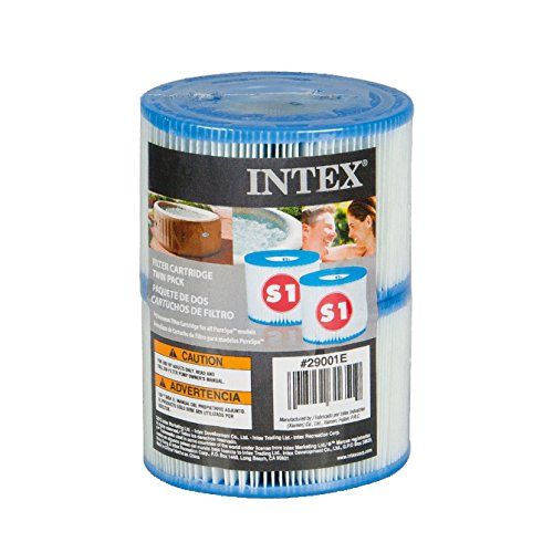 Intex Type S1 Filter Cartridge for PureSpa, Twin Pack (Intex S1 Spa Filter compare prices)