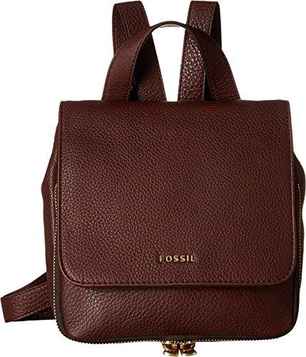 Fossil Preston Mini Backpack, Espresso, One Size