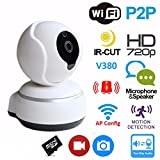 Archeer Wireless WiFi USB Baby Monitor Alarm Home Security IP Camera HD 720P Two Way Audio Onvif with Night Vision