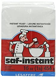 Saf Instant Yeast, 1-Pound Pouches (Pack of 6)