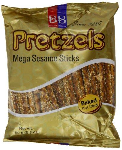 Beigel Beigel Megs Sesame Stick Pretzel 150 g (Pack of 10)