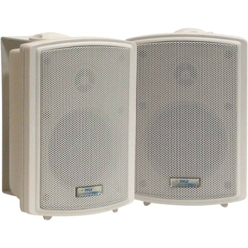 Pyle Home Pdwr33 3.5-Inch Indoor/Outdoor Waterproof Speakers (Pair)
