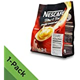 NEW! Nescafé IMPROVED 3 in 1 ORIGINAL (was REGULAR) Premix Instant Coffee - Taste Creamier & More Aromatic - Don't Need Creamer & Sugar Anymore - Coffee On The Go, Make Your Life Easier - 20g/Stick - 30 Sticks TOTAL