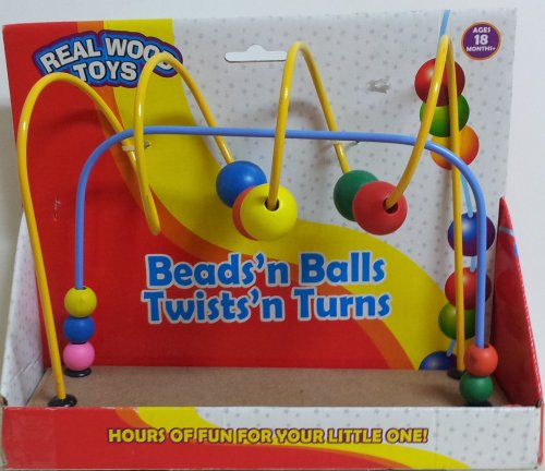 Beads'n Balls Twists'n Turns Wood Toy