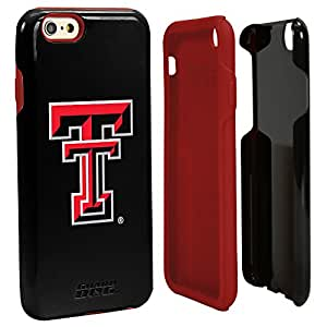 NCAA Texas Tech Red Raiders Hybrid Case for iPhone 6, Black, One 6